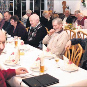 Gute Stimmung herrschte bei den SPD Senioren in Varl. Foto G. Scheland