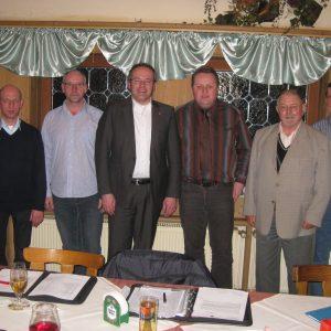 Vorstand mit Landrat