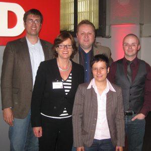 OWL-Gruppe mit Ute Schäfer MdL, Ministerin für Familie, Kinder, Jugend, Kultur und Sport