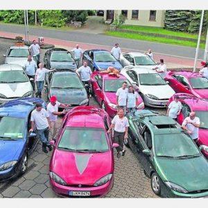Mit 13 Ford Cougar feierte das von Torsten Kuhlmann organisierte Nordpunkt-Treffen in Pr. Ströhen eine gelungene Premiere.