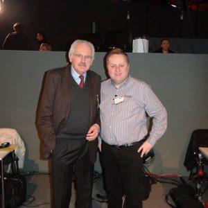 Ich traf Ulrich Deppendor in Berlin.