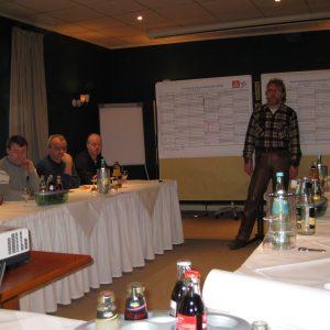 Erste Sitzung der Vertrauensleute von ZF Lemförder im Jahr 2009