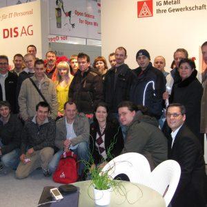 Die IG Metall Besuchergruppe der IG Metall Nienburg Stadthagen