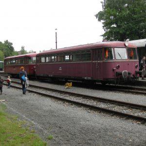 Unser Schienenbus in Piesberg