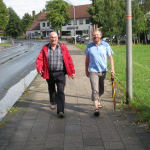 Dieter Gronert unterwegs in Tonnenheide