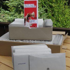 1060 Erstwählerbriefe für Rahden
