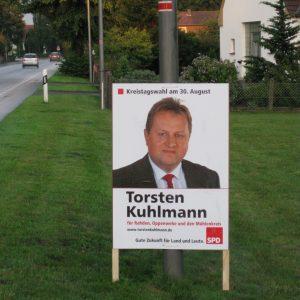Plakat Oppenwehe Zentrum