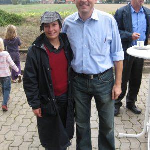 Dorothee Brandt und Achim Post in Lavesloh