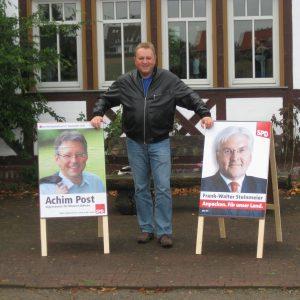 Post und Steinmeier, die richtige Wahl!