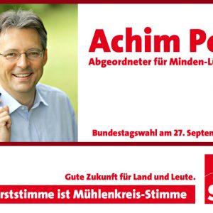 Erststimme für Achim Post!