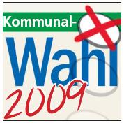 Logo Kommunalwahlen 2009 (WB)