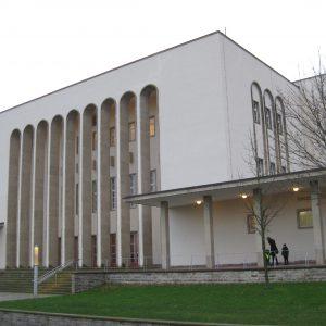 Wegen ihrer Akustik berühmten Rudolf-Oetker-Halle in Bielefeld.
