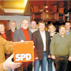 Sozialdemokraten bekennen Farbe. FOTO: -SL-