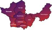 8 Städte und Gemeinden mit 93 Ortschaften