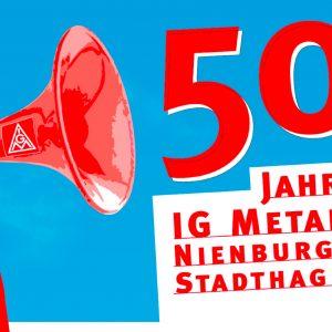 50 Jahre IG Metall Nienburg Stadthagen