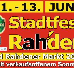 Stadtfest Rahden! - Herzlich Willkommen!
