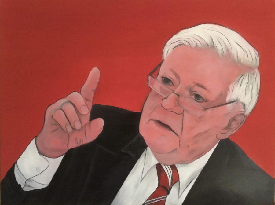 Mein Helmut Schmidt Gemälde