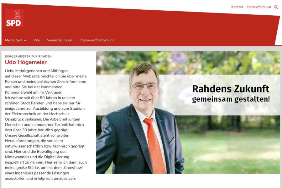 Homepage Udo Högemeier