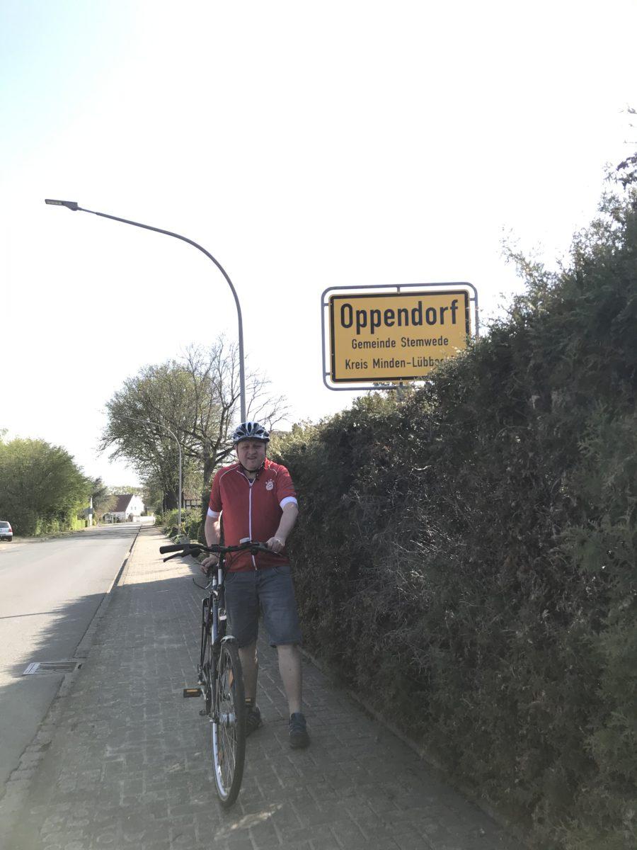 Radtour durch Oppendorf