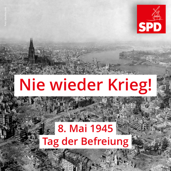 Nie wieder Krieg!
