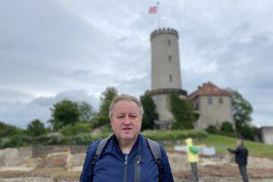 Besuch auf der Sparrenburg