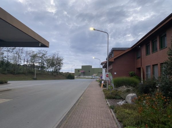Eingangsbereich Entsorgungszentrum