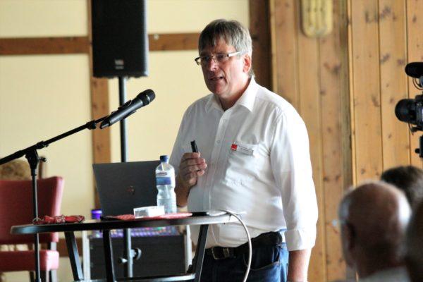Vortrag durch Energieexperte Udo Högemeier