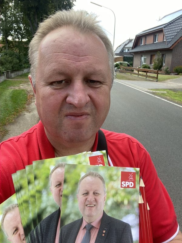Hauswahlkampf in Oppenwehe