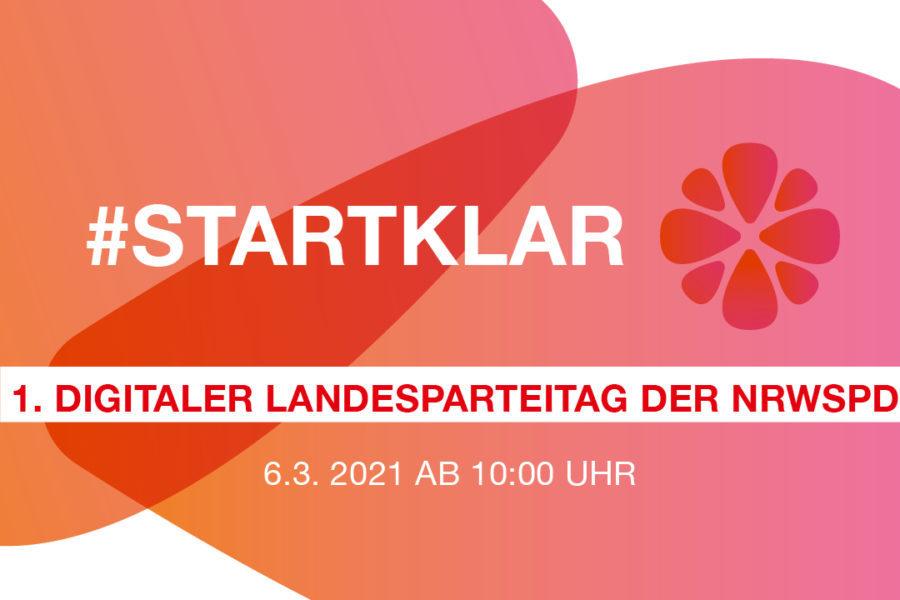 Digitaler Landesoarteitag NRWSPD