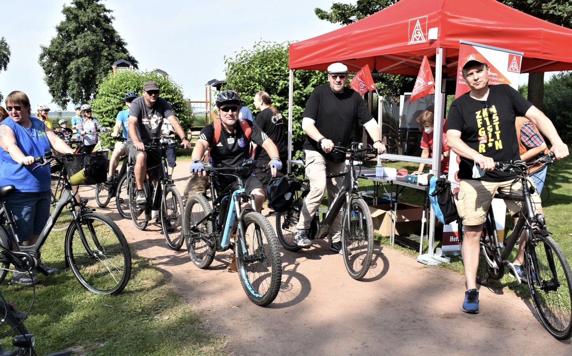 Erfolgreiche Fahrradtour der ZF Vertrauensleute