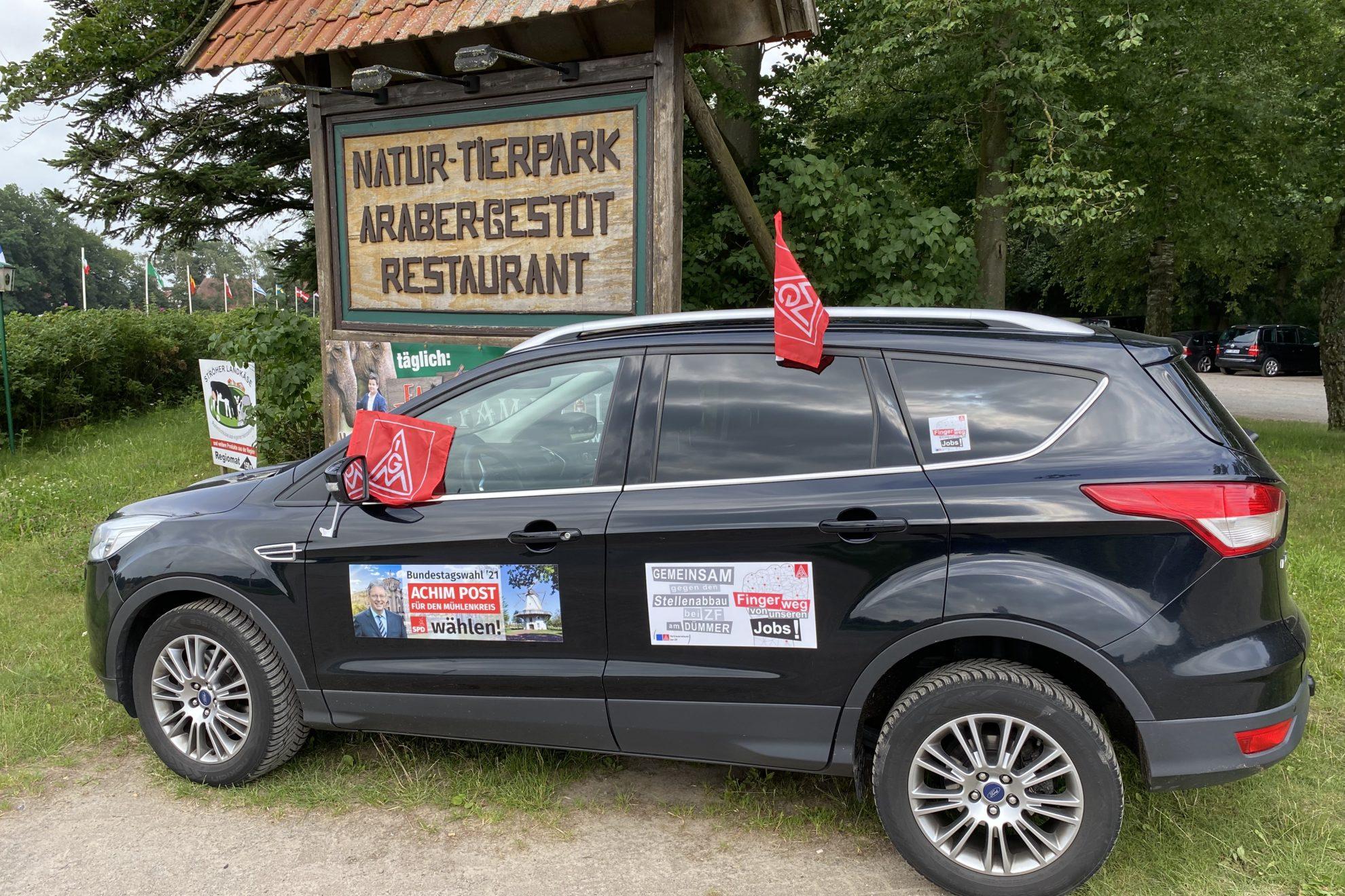 Familienfest IG Metall im Tierpark Ströhen