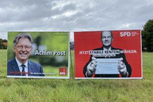 Erst- und Zweitstimme für die SPD