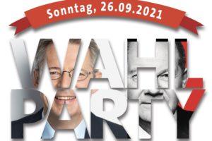Titelbild Wahlparty