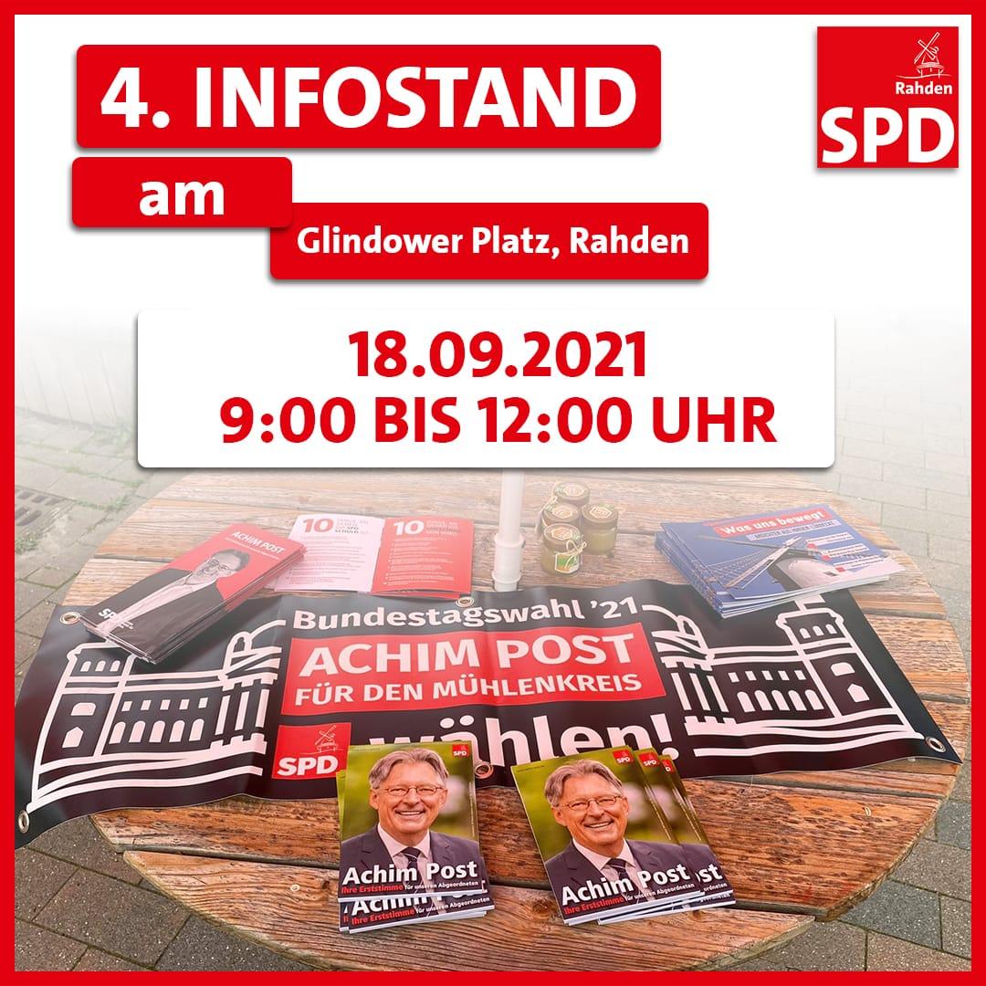4. Infostand am Glindower Platz