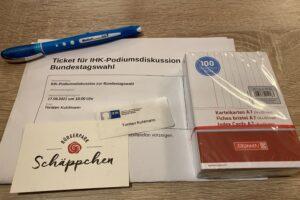 IHK Podiumsdiskussion zur Bundestagswahl
