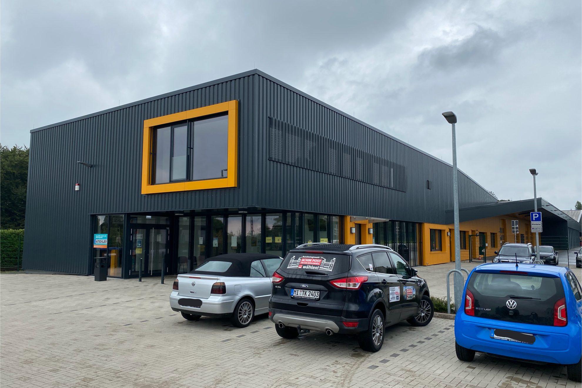 Neubau Straßenverkehrsamt und Straßenmeisterei